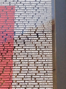 My name on the Nike wall!!