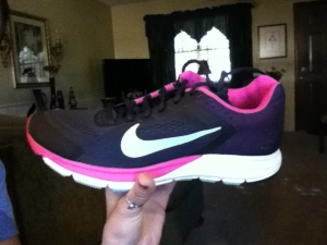 My new shoes! Nike Structure 17.