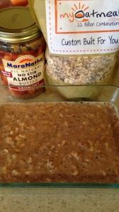 I made an oatmeal bake! :)